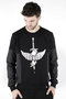 Sweatshirt Mark J.Brash, drawing Crow dagger